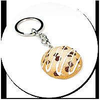 keyring chocolate cookie no. 2