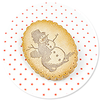 brooch christmas cookie no. 7