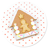 brooch gingerbread house no. 5