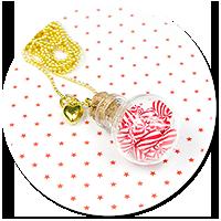 christmas necklace glass ball no. 2