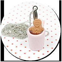 necklace christmas mug of hot chocolate no. 3