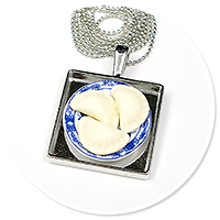 necklace with dumplings no. 3