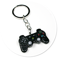 keyring with pad