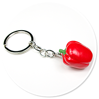 keyring with pepper no. 2