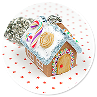 necklace gingerbread house no. 4