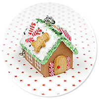necklace gingerbread house no. 11