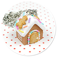 necklace gingerbread house no. 10