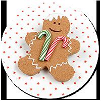 brooch gingerbread man no. 3