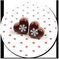plug-in earrings christmas cookies no. 13