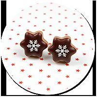plug-in earrings christmas cookies no. 14