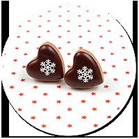 plug-in earrings christmas cookies no. 15