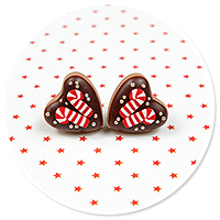 plug-in earrings christmas cookies no. 5