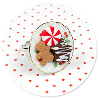christmas ring with cookies no. 2