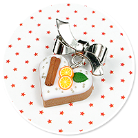 mini brooch christmas cookie no. 2