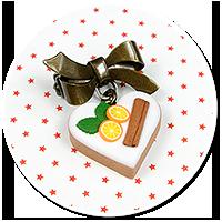 mini brooch christmas cookie no. 4