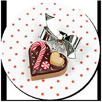 mini brooch christmas cookie no. 5