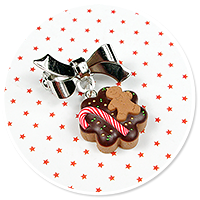 mini brooch christmas cookie no. 8