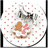 mini brooch christmas cookie no. 9