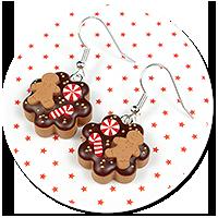 earrings christmas cookies no. 9