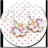 earrings christmas cookies no. 5