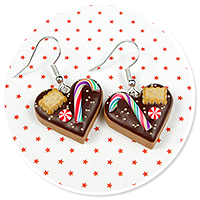 earrings christmas cookies no. 7
