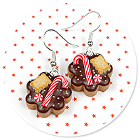 earrings christmas cookies no. 4