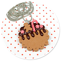 necklace christmas cookie no. 7