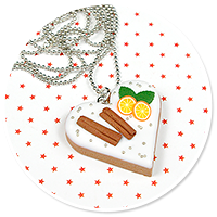 necklace christmas cookie no. 2