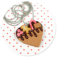 necklace christmas cookie no. 4