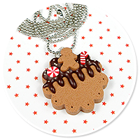 necklace christmas cookie no. 5