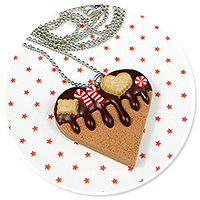 necklace christmas cookie no. 3
