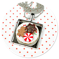 necklace christmas with sweets no. 7