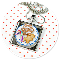necklace christmas with sweets no. 8