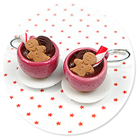 earrings christmas cup of hot chocolate no. 4