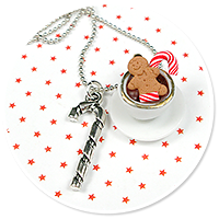 necklace christmas cup of hot chocolate no. 2