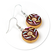 earrings donuts with sprinkles no. 5