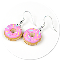 earrings donuts with sprinkles no. 8