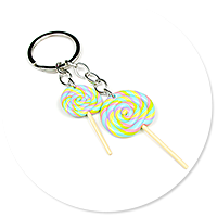 keyring with lollipops no. 2