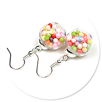 earrings ball with candies no. 2