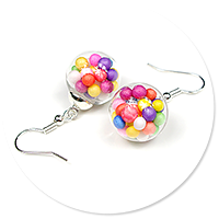 earrings ball with candies no. 3