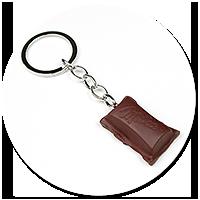 keyring piece of chocolate no. 3