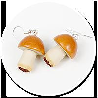 earrings mushroom no. 2