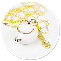 necklace sugar-bowl