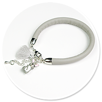 bransoletka z zajączkiem