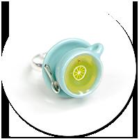 pierścionek pastelowa filiżanka z herbatką nr 2