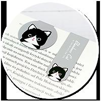 magnetyczna zakładka z kotkiem nr 3
