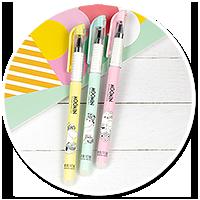 długopis z Muminkami