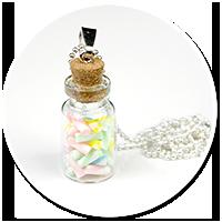 naszyjnik słoik z cukierkami nr 2