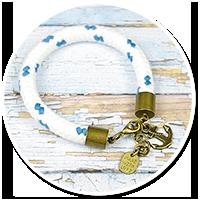 bransoletka lina z kotwicą nr 2