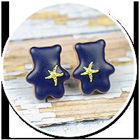 marynarski miś z rozgwiazdą